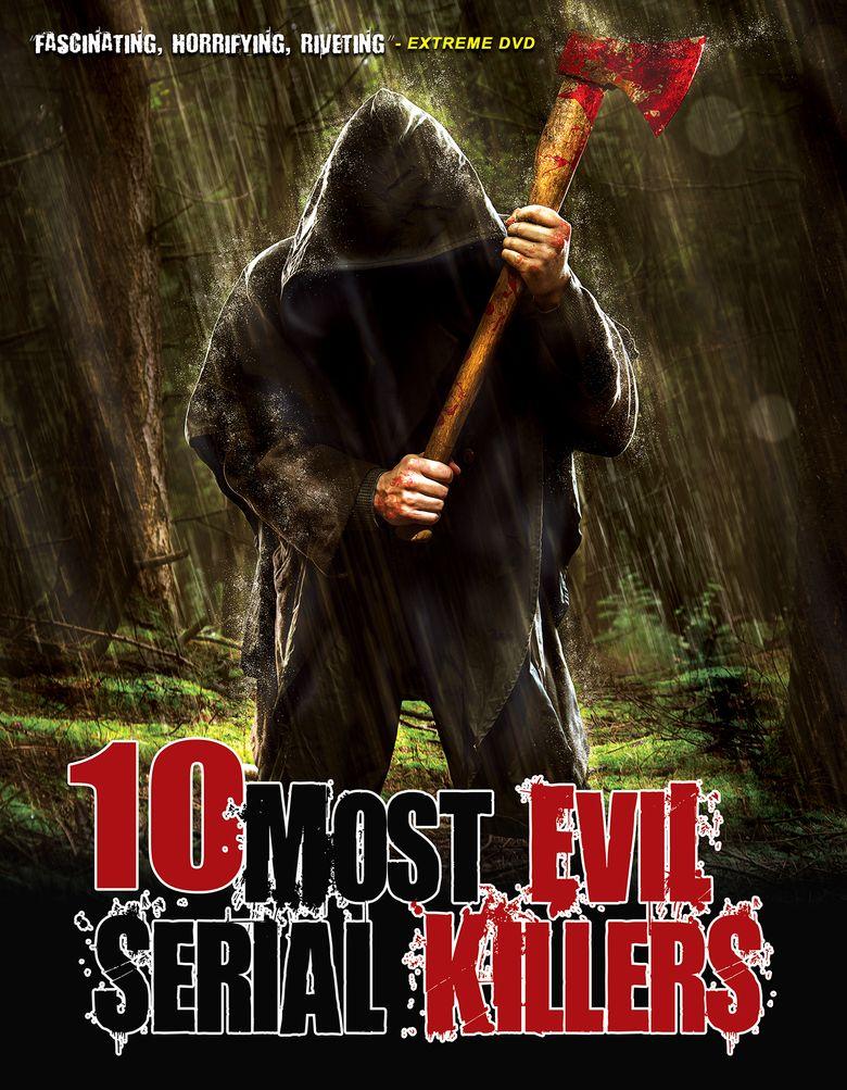 10 Most Evil Serial Killers Poster