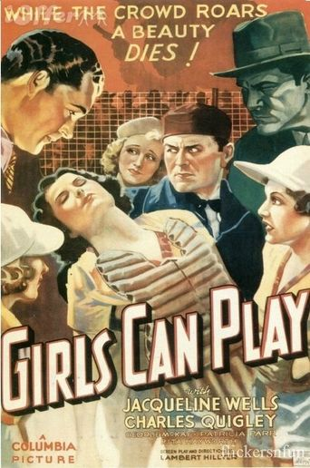 Girls Can Play Poster