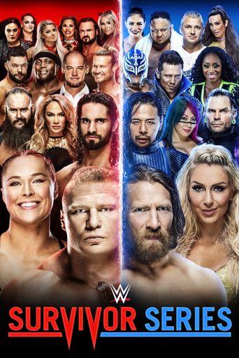 WWE Survivor Series 2018 Poster