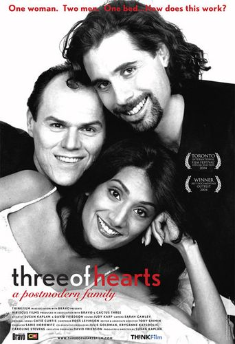 Three of Hearts: A Postmodern Family Poster