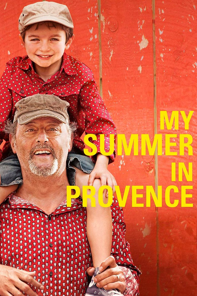 Our Summer in Provence Poster
