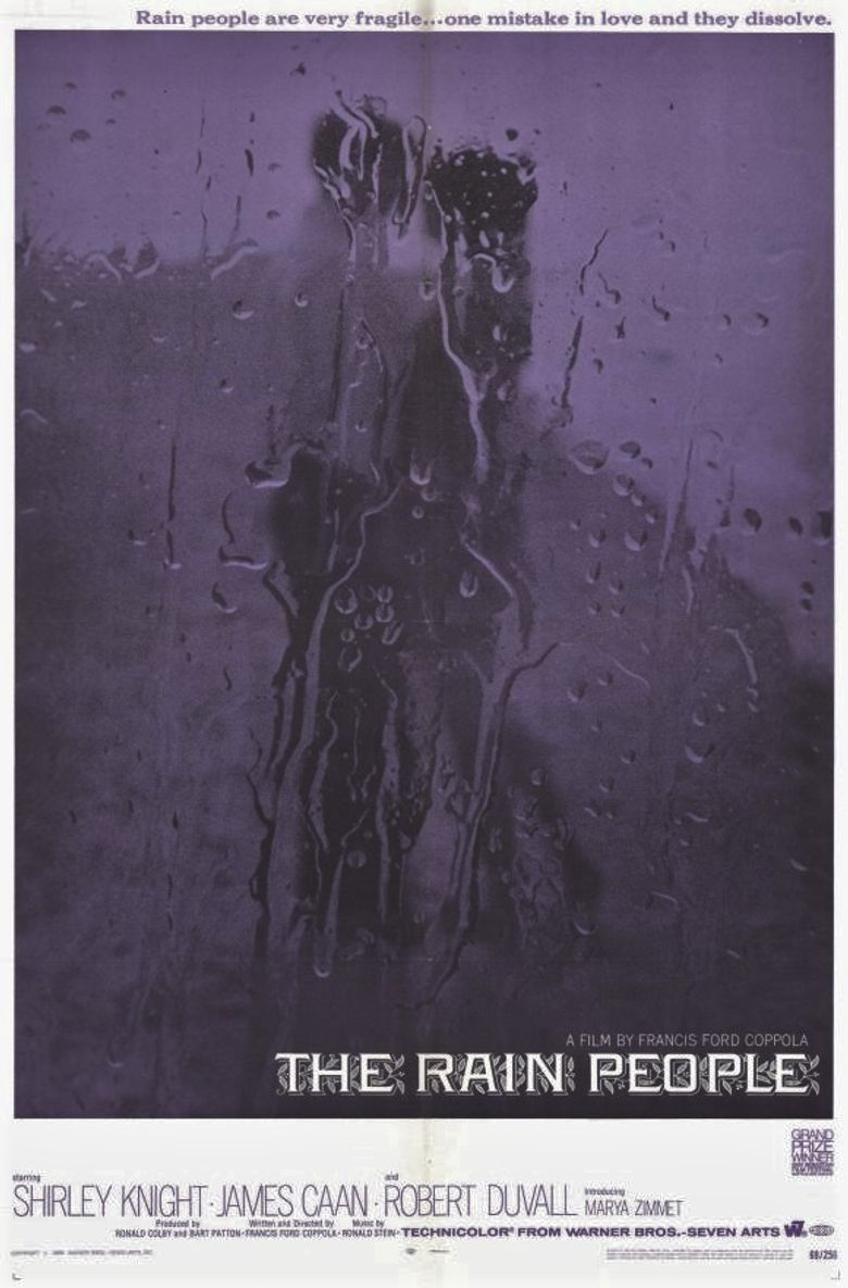 The Rain People Poster