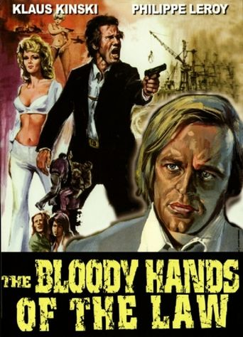 The Bloody Hands of the Law Poster