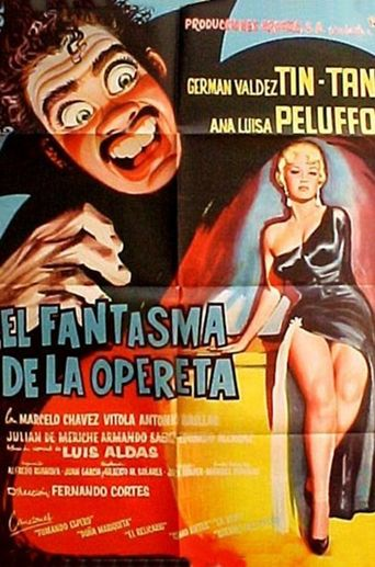 The Phantom of the Operetta Poster