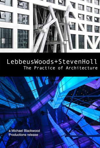 Lebbeus Woods + Steven Holl: The Practice of Architecture Poster