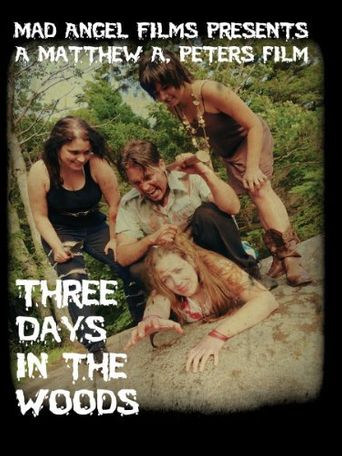 Three Days in the Woods Poster
