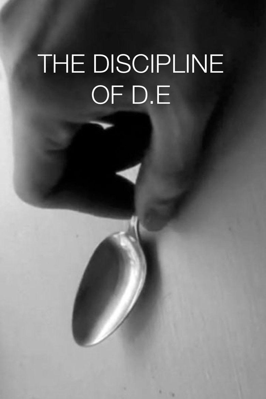 The Discipline of D.E. Poster