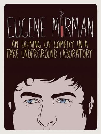 Eugene Mirman: An Evening of Comedy in a Fake Underground Laboratory Poster