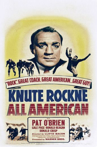 Knute Rockne All American Poster