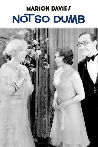 Not So Dumb Poster
