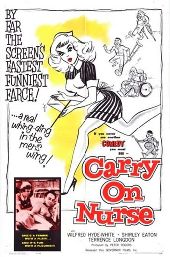 Carry On Nurse Poster