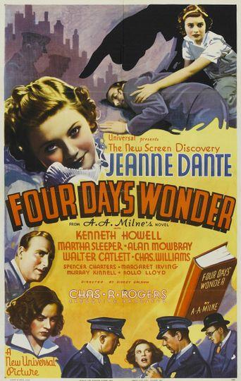 Four Days' Wonder Poster