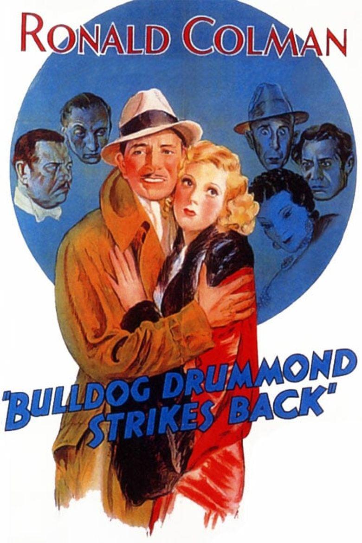Bulldog Drummond Strikes Back Poster