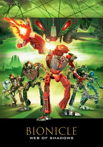 BIONICLE 3: Web of Shadows Poster
