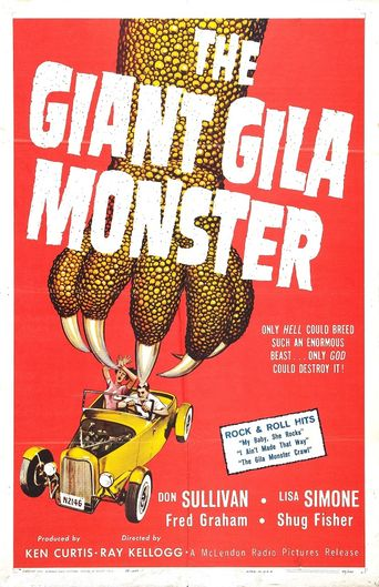 The Giant Gila Monster Poster