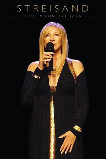 Streisand: Live in Concert 2006 Poster