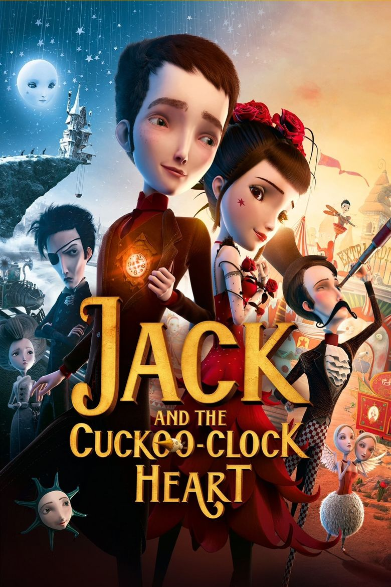 Jack and the Cuckoo-Clock Heart Poster