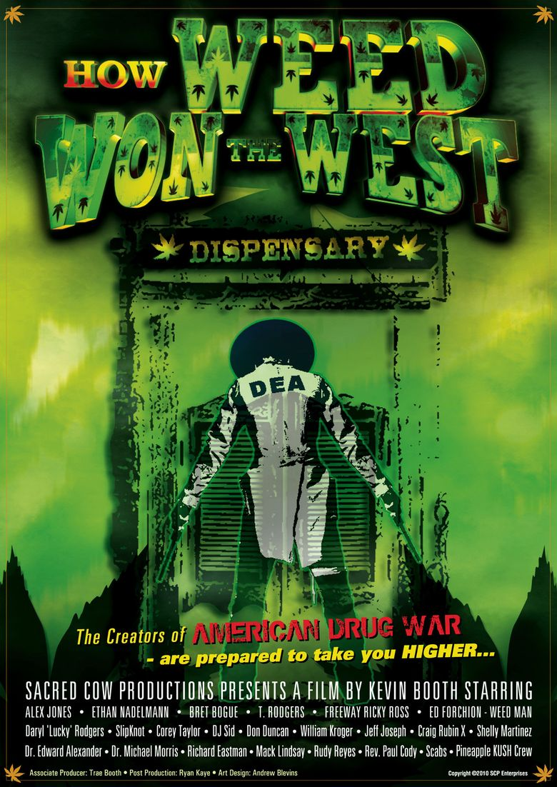 How Weed Won the West Poster