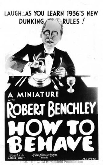 How to Behave Poster