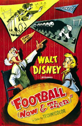 Football (Now and Then) Poster
