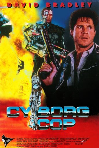 Cyborg Cop Poster