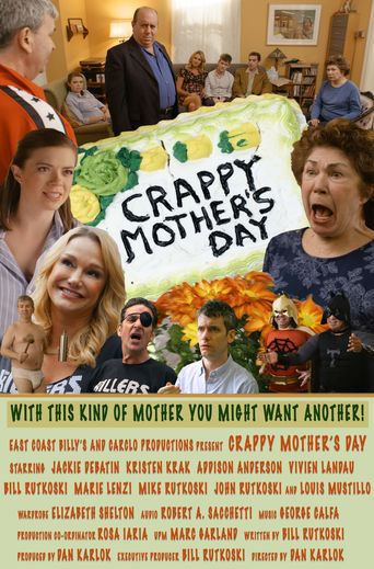 Crappy Mothers Day Poster