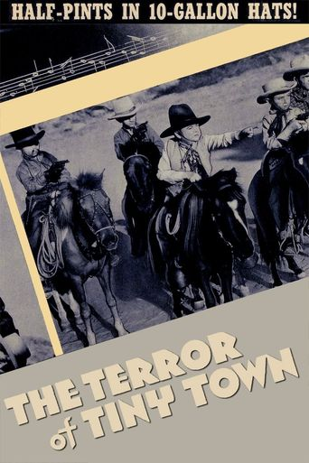 The Terror of Tiny Town Poster