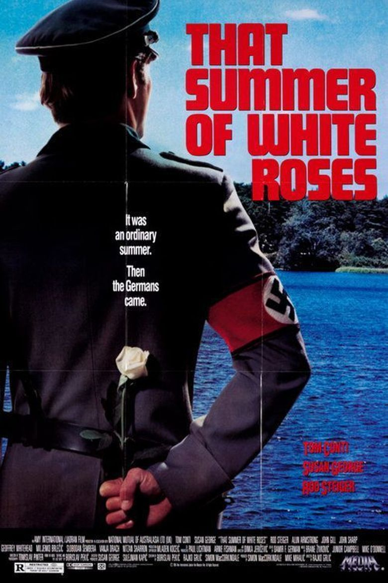 That Summer of White Roses Poster
