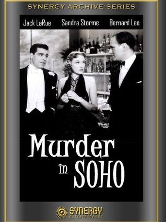 Murder in Soho Poster