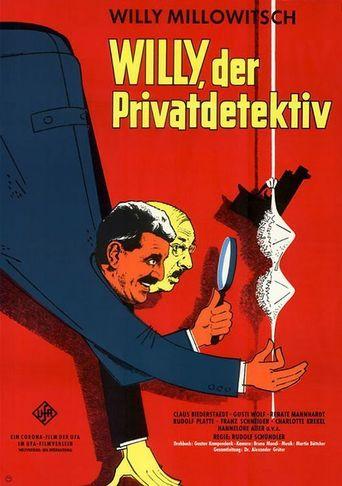 Willy, der Privatdetektiv Poster