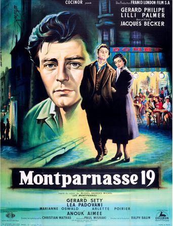 The Lovers of Montparnasse Poster