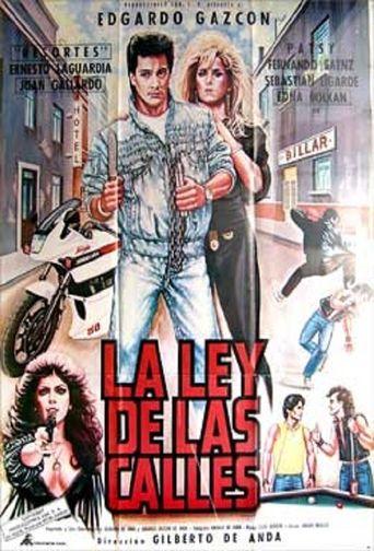 La ley de las calles Poster