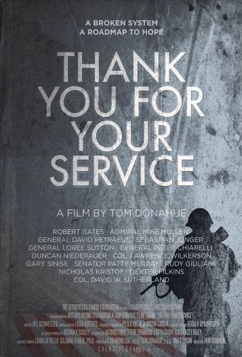 Thank You for Your Service Poster