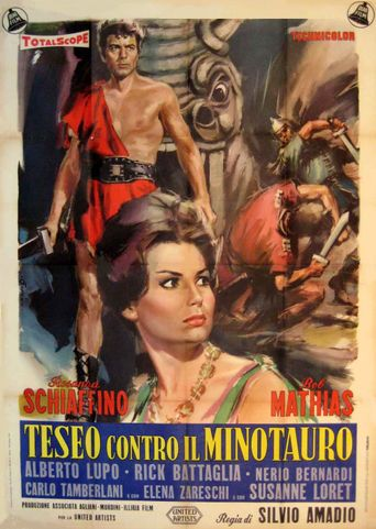 The Minotaur, the Wild Beast of Crete Poster