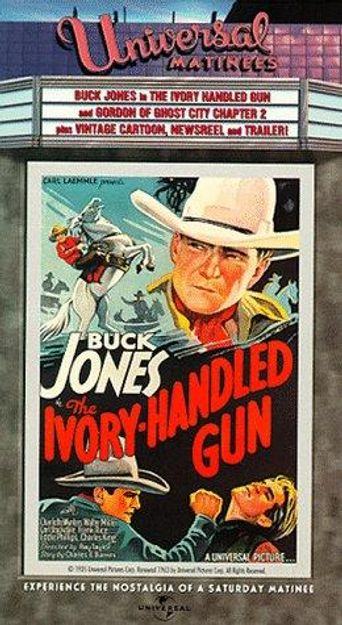 The Ivory-Handled Gun Poster