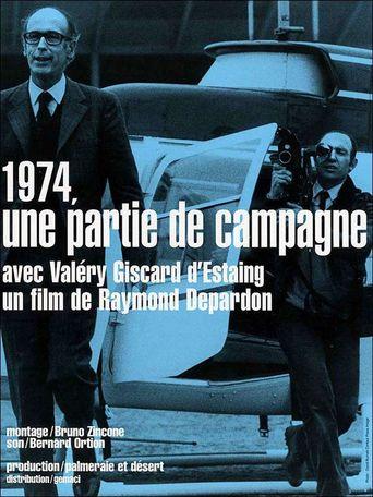 1974, une partie de campagne Poster