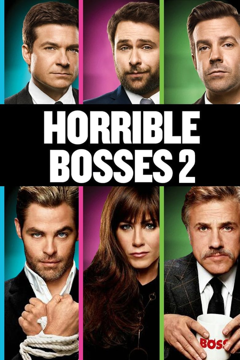 Horrible Bosses 2 Poster