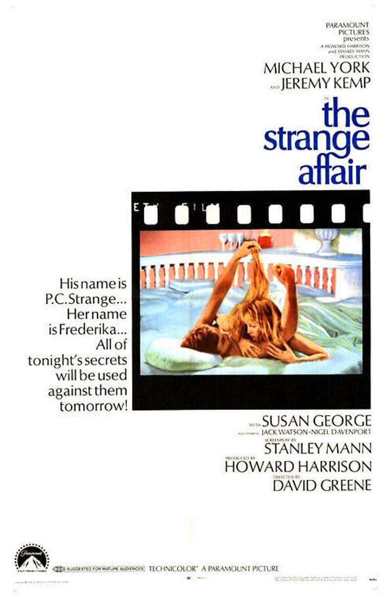The Strange Affair Poster