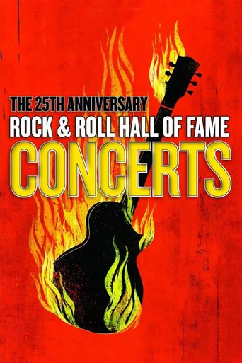 The 25th Anniversary Rock and Roll Hall of Fame Concerts Poster
