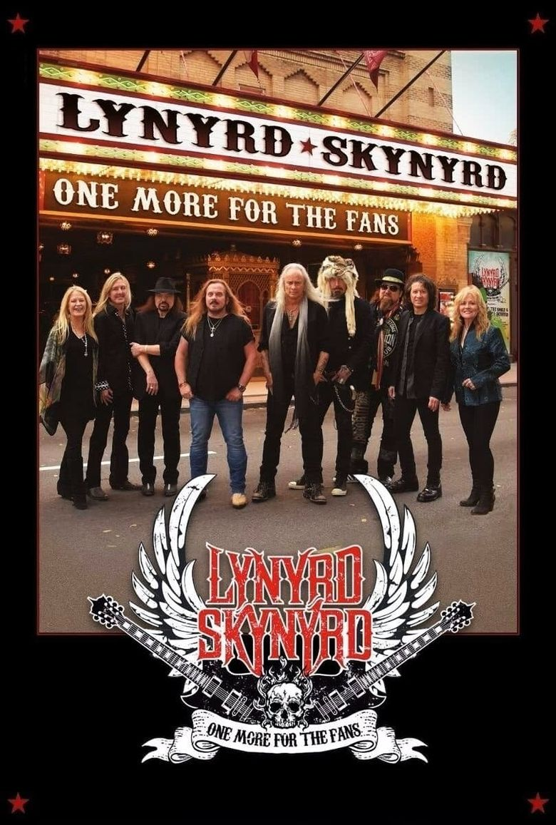 Lynyrd Skynyrd - One More For The Fans Poster