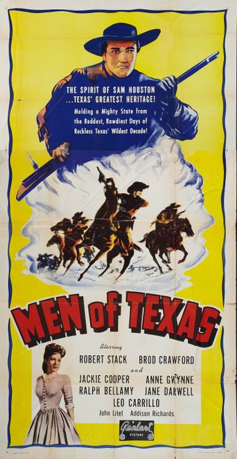 Men of Texas Poster