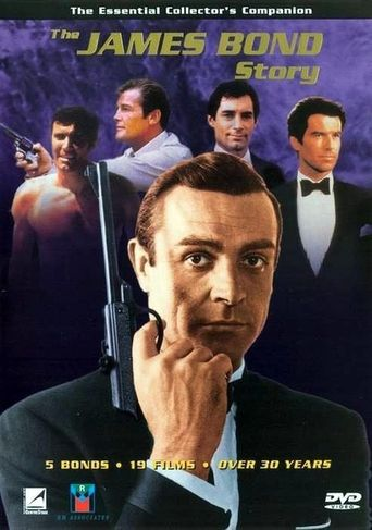 The James Bond Story Poster