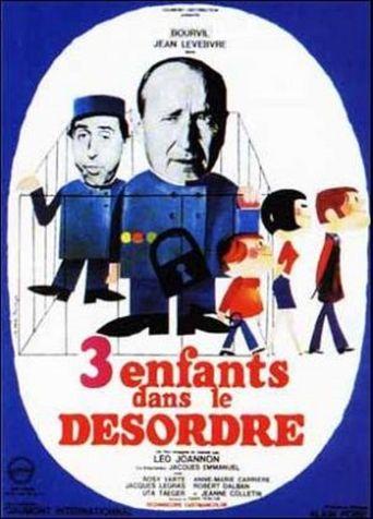 Three Disordered Children Poster