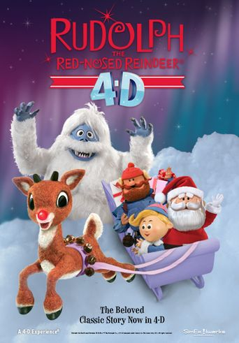 Rudolph the Red-Nosed Reindeer 4D Poster