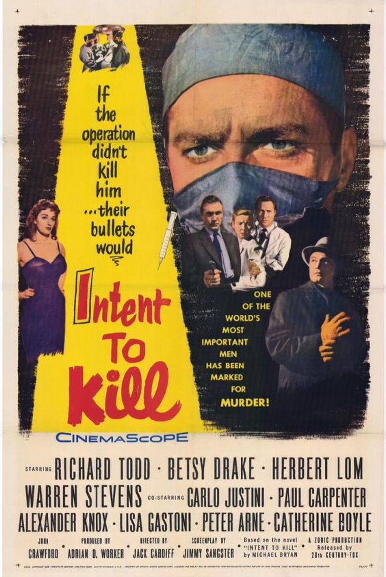Intent to Kill Poster