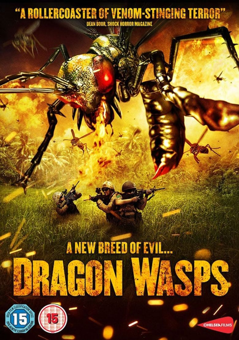 Dragon Wasps Poster