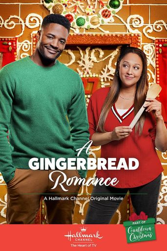 A Gingerbread Romance Poster
