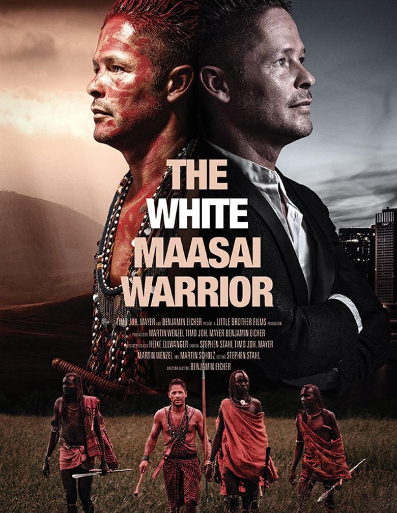 The White Massai Warrior Poster