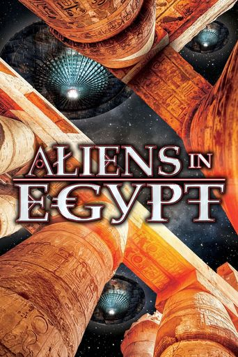 Aliens In Egypt Poster