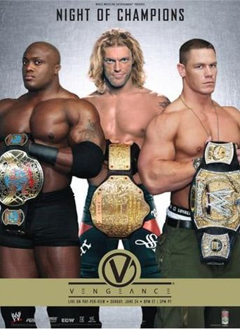 WWE Vengeance: Night of Champions 2007 Poster